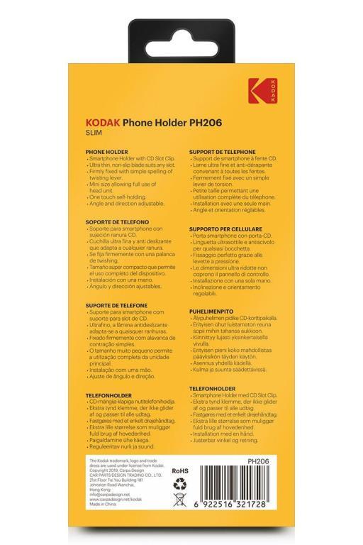 Support smartphone Kodak KODPH206
