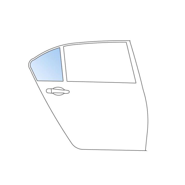 Vitre Latérale Fixe SAINT-GOBAIN SEKURIT 6102953730