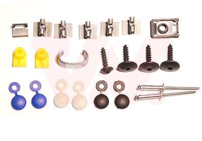 Kit d'assemblage, pare-chocs VAN WEZEL 0937794