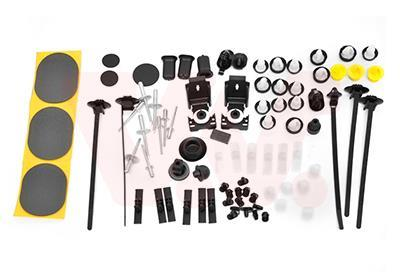 Kit d'assemblage, porte VAN WEZEL 0963799