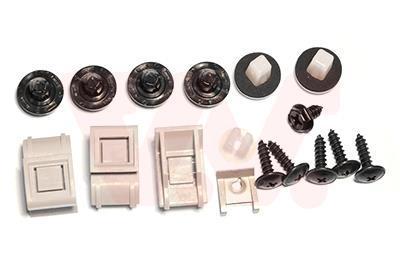 Kit d'assemblage, pare-chocs VAN WEZEL 3391793
