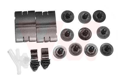 Kit d'assemblage, capot-moteur VAN WEZEL 4388797