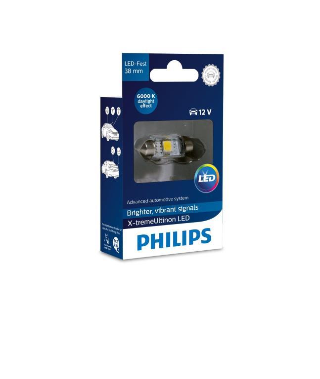 Ampoules LED Eclairage d'intérieur et signalisation PHILIPS 39708630