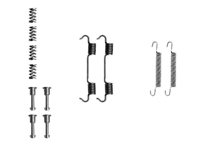 Kit d'accessoires, mâchoire de frein BOSCH 1 987 475 191